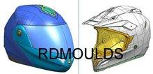 motorcycle helmet mould (moldes do capacete da motocicleta)