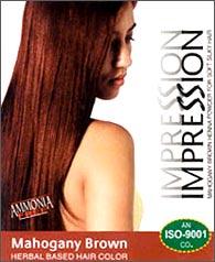 Caoba Color de pelo