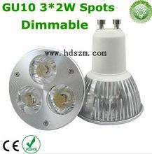 6W LED Spotlight Bulb 3*2W 220V 277V