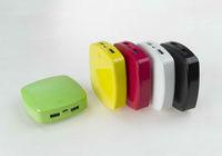 2013 New 5600mah Rubber finishing portable power bank for Ipad mini ipod iphone Samsung S4 htc blackberry etc.