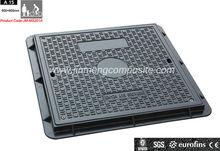 JM-MS201A EN124 A15 Square Light Duty Manhole Cover C/O 600*600 with Screw
