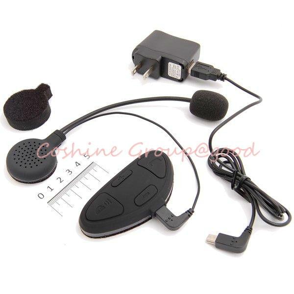 motorcycle helmet gps bluetooth intercom headset headphones interphone 100m. Black Bedroom Furniture Sets. Home Design Ideas