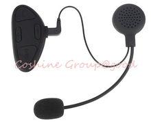 Motorcycle Helmet GPS Bluetooth Intercom Headset Headphones Interphone 100m
