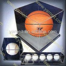 Clear countertop acrylic basketball display case