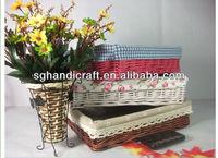 baby gift wicker plant basket