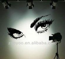 ZY8024 Audrey Hepburn Beautiful Eyes Removable Wall Art Decal Sticker Decor Mural DIY Vinyl