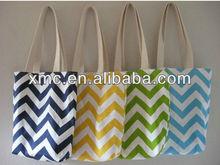 fashion stripe environment-friendly shopping bag
