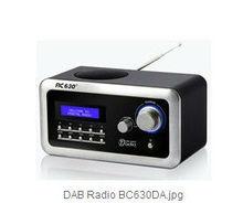 BC-630DA DAB/DAB+/FM Digital Audio Broadcasting Radio Receiver With Clock&Alarm