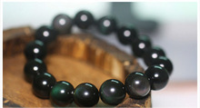 Classical Black Obsidian Beads For Mother And Father Birthday Gifts