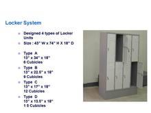 Steel Locker System