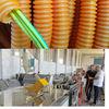 PVC PP EVA pipe Plastic flexible hose making machine