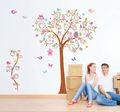 Amoroso zy50ab aves del árbol de la abeja de la pared pegatinas de decoración para el hogar/decoración de hogar/extraíbles de la pared calcomanías 2013 nuevo