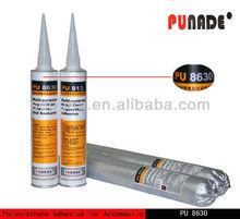 Special pu polyurethane Auto glass adhesive sealant glue PU8630,car high adhesive one part polyurethane windshield sealant