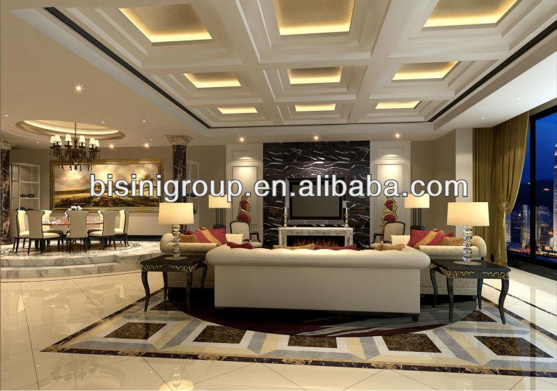 3d luxury modern house plans interior designs b06 100011 for Housse de couette linen chest