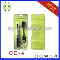 Ce4 vaporizador, de alta calidad ce4 ego kit de la ampolla