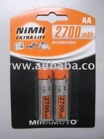 MH-2700AAH NiMH Rechargeable Battery