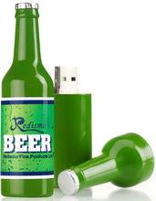 Rubber bottle usb bottle, wine bottle usb flash drive, beer bottle usb stick