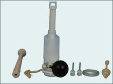Flushing materials