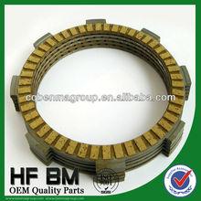 certificate clutch fiber CB100/CD100/CG125 Multi-plate wet fiber,clutch plate for motorcycle