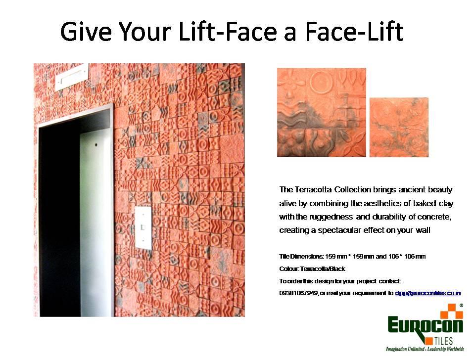 Eurocon Tiles- Terracotta Collection