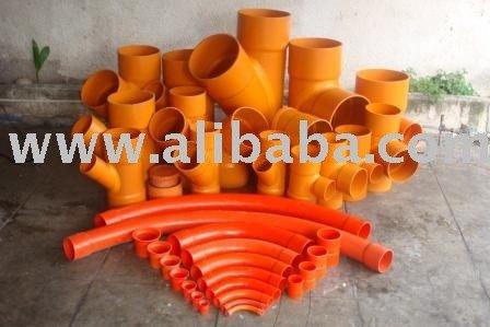 PVC fabricated fittings