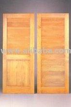 shutters blind wooden door