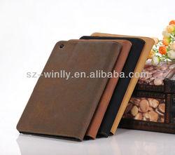 New arrival belt clip cover for ipad mini, zebra-stripe case