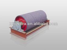 ceramic rubber pulley lagging for conveyor belt