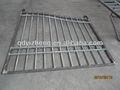 Ferro tubo quadrado portão