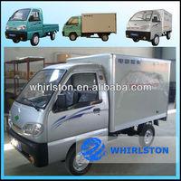 Electric mini box van truck from China