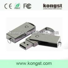 China Original Cheap Pendrive 64GB USB Flash Drive 2.0 Driver,Custom 64GB Metal Swivel USB Flash Drive