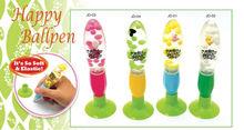 Plastic fat liquid floater promotional pens