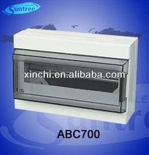 ABC plastic electrical enclosure distribution box passed ce certificate