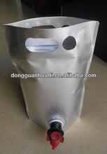 Aluminum foil bag in box 5L aseptic bags for fruit juice
