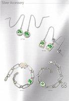 Bracelet (Real Four-leaf Clover)