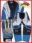 Mad Piranha MX-2009 Motocross Kit - Blue