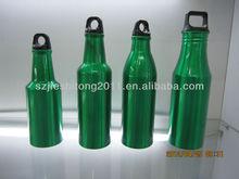 Eco-friendly Beer bottle shape Aluminum water bottle drinking bottle