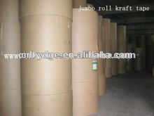 jumbo roll hot wetted kraft paper for carton packing