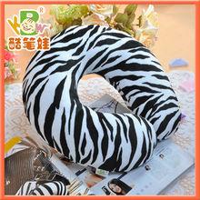 """GIFT IDEA"" High Quality Travel Neck U-Shape Headrest Tiger's Stripes Custom Travel Pillow"