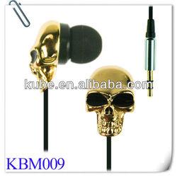 Custom design 3D logo earbuds and earphones