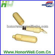 Wood Bamboo Simple Usb Flash Drive Usb Flash Pen