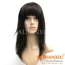 Color#2 Available Popular Brazilian human hair bang