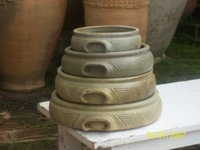Clay Glazed Casserole Dishes