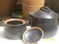 Clay Glazed Chunky Cooking pots