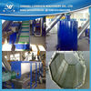 plastic waste film bag purging recycling line