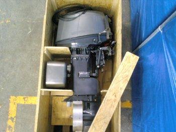 Yanmar D36 and D27 diesel outboard engine motor