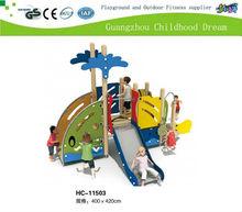 2013 New Design kids outdoor wooden play equipment