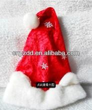 white santa hats/santa hat/christmas santa hat