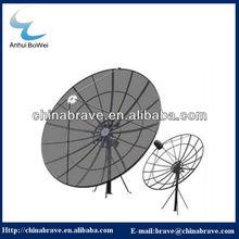 High quality C Band polar mount mesh satellite dish 180cm/240cm