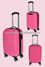 """decent 20"""" peach bloom travel luggage popular in America and England"""